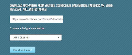 Top FaceBook Video to MP3 Download Site Online | i-Loveshare