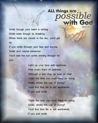 All Things Are Possible With God Angel Quote Quotespicturescom