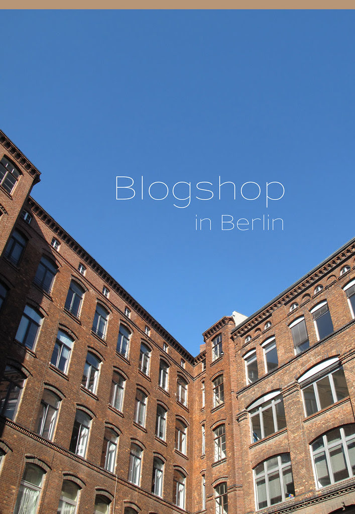 Blogshop Berlin 15.10.2011
