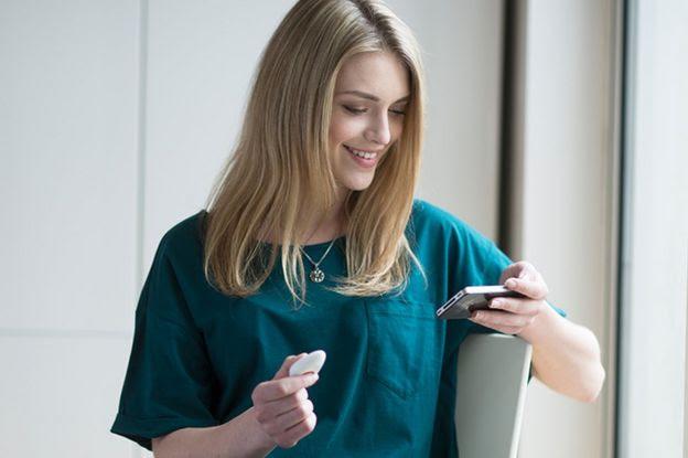 Pip mede índices de perspiração e se comunica com o smartphone do usuário