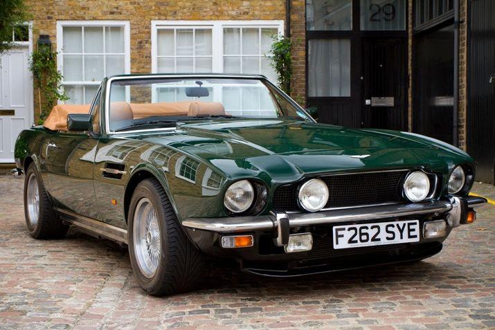 Aston Martin V8 Volante | Cars & bikes | Pinterest
