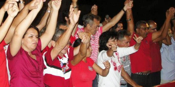 Recordação da campanha de Cessa e seu grupo para Paulo