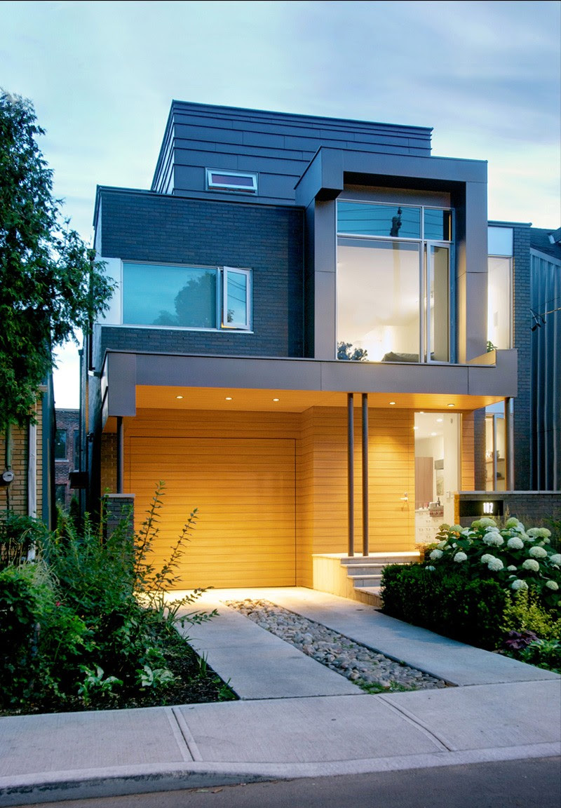 Living in Contemporary Two Storey House Design  Posh and