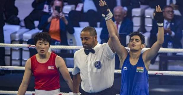 Sonia Chahal Bags Silver Medal In The 57kg Weight Category At The World Championships