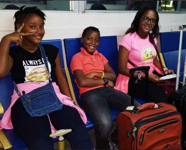 Photos: Van Vicker kids are all grown up and beautiful.