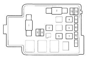 2000 Honda Civic Power Window Fuse Diagram Wiring Diagrams Library