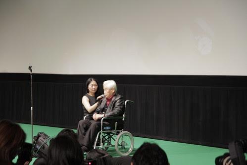 Kaneto Shindo speaks