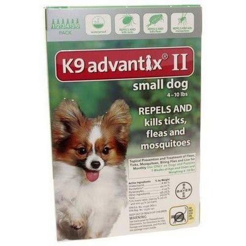 Google Express K9 Advantix Ii Flea Treatment For Dogs Up To 10 Lbs