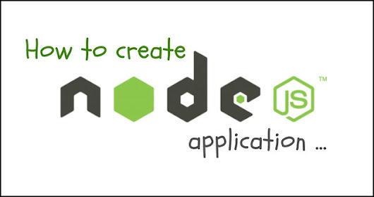 How to create an app in Node.js - Anil Labs