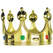 Child Jeweled King Crown 7in x 5in- Party City