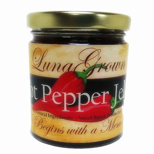 LunaGrown Chipotle Pepper Jelly