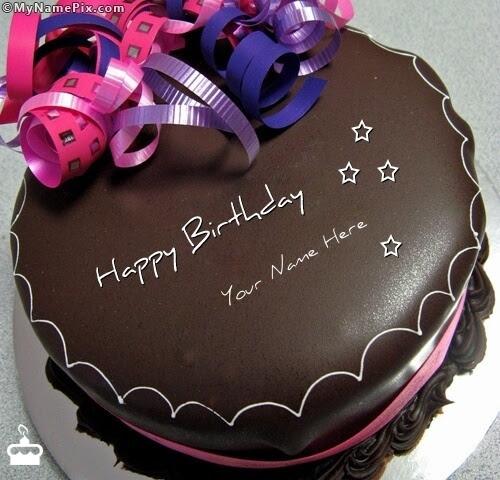 Names Birthday With Cakes Happy
