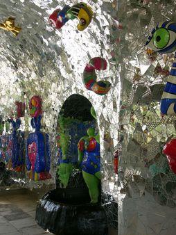 Grotto by Niki de Saint Phalle, Herrenhäuser Gärten, Hannover, Germa
