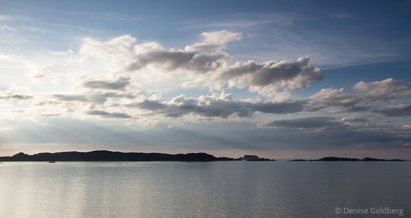 calm sea at sunset, Twillingate, Newfoundland