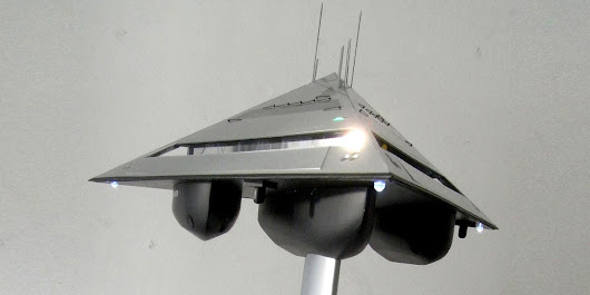 This insane transforming superyacht concept looks like a UFO
