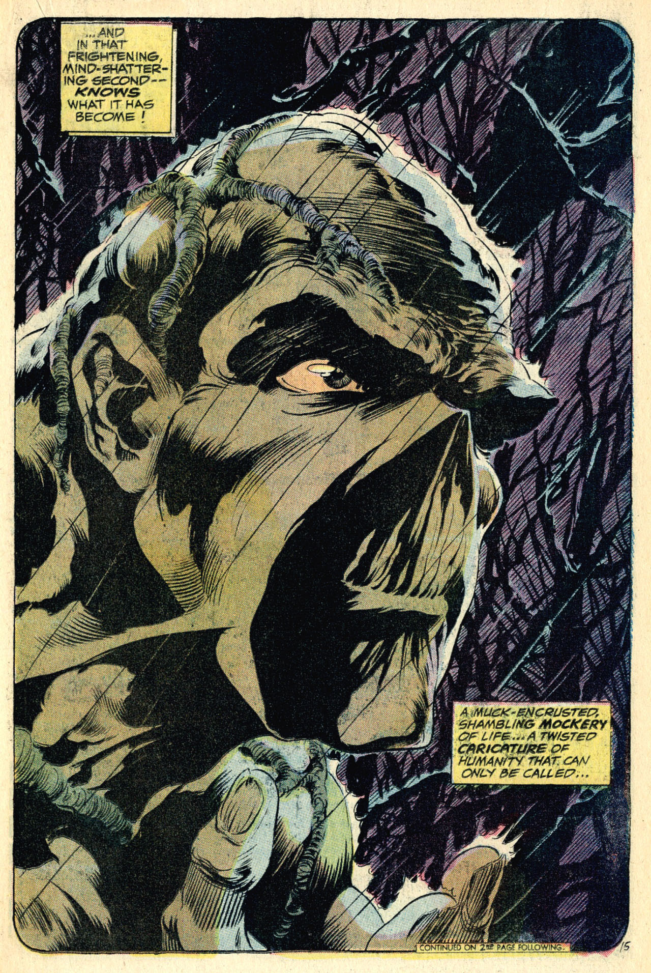 The Swamp Thing, by Len Wein and Bernie Wrightson