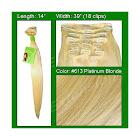Brybelly #613 Platinum Blonde - 14 inch