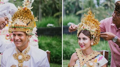 Balinese Hindu Traditional for Wedding Ceremony in Bali