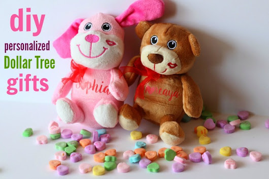 DIY Personalized Stuffed Animals