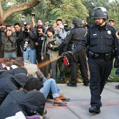 Police Pepper-Spray Peaceful UC Davis Students: Ask Chancellor Katehi to Resign!