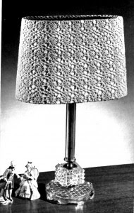 Vintage Crafts and More Hairpin Lace Lamp Shades Pattern