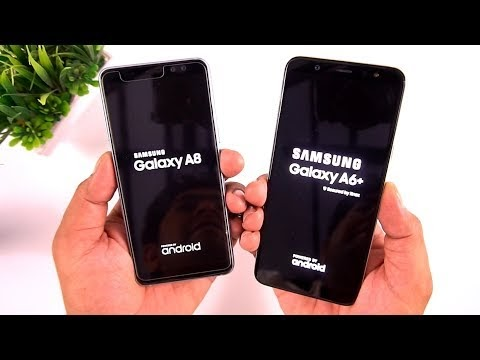 Samsung Galaxy A6+ vs Samsung Galaxy A8 2018 Camera & Speed