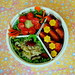 Sticky Rice & Wreath Bento
