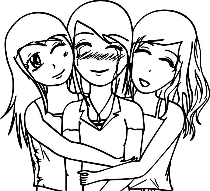Bff Coloring Pages For Kids - Coloring Pages Ideas