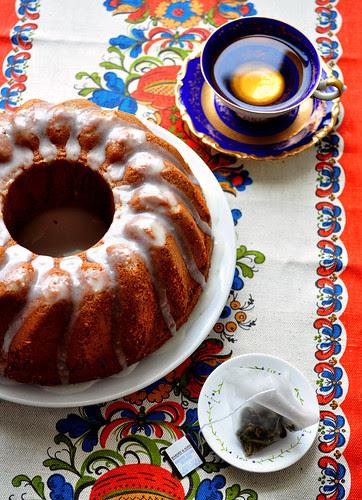 Honey Cake with Tea