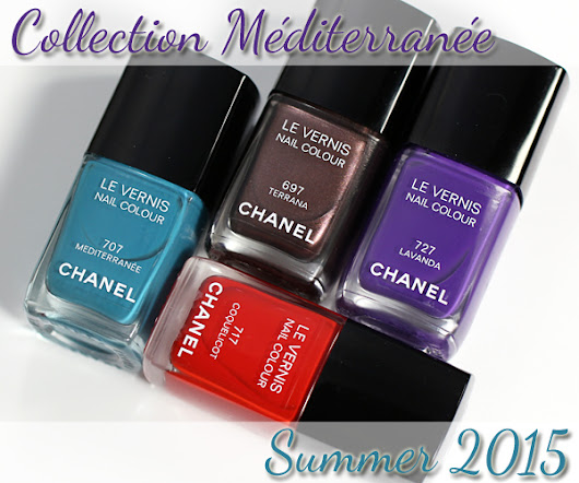 Chanel Summer 2015 Nail Polish Swatches & Review