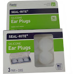 Flents Seal Rite Silicone Ear Plugs 3