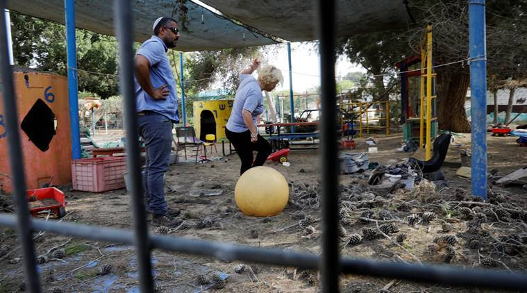 mortar shells fired from Gaza, says israel military