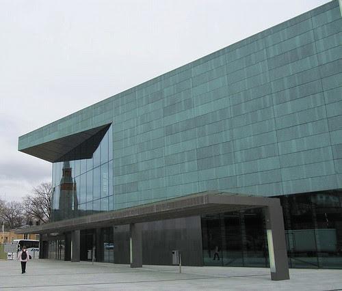 Musiikkitalo, sisäänkäynti - Music Hall entrance