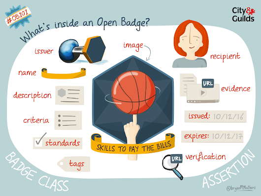 What's inside an Open Badge - Visual Thinkery