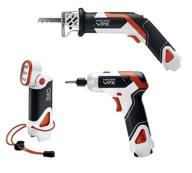 air power tool black decker vpx903x1 li ion vpx starter set with power screwdriver cut saw. Black Bedroom Furniture Sets. Home Design Ideas