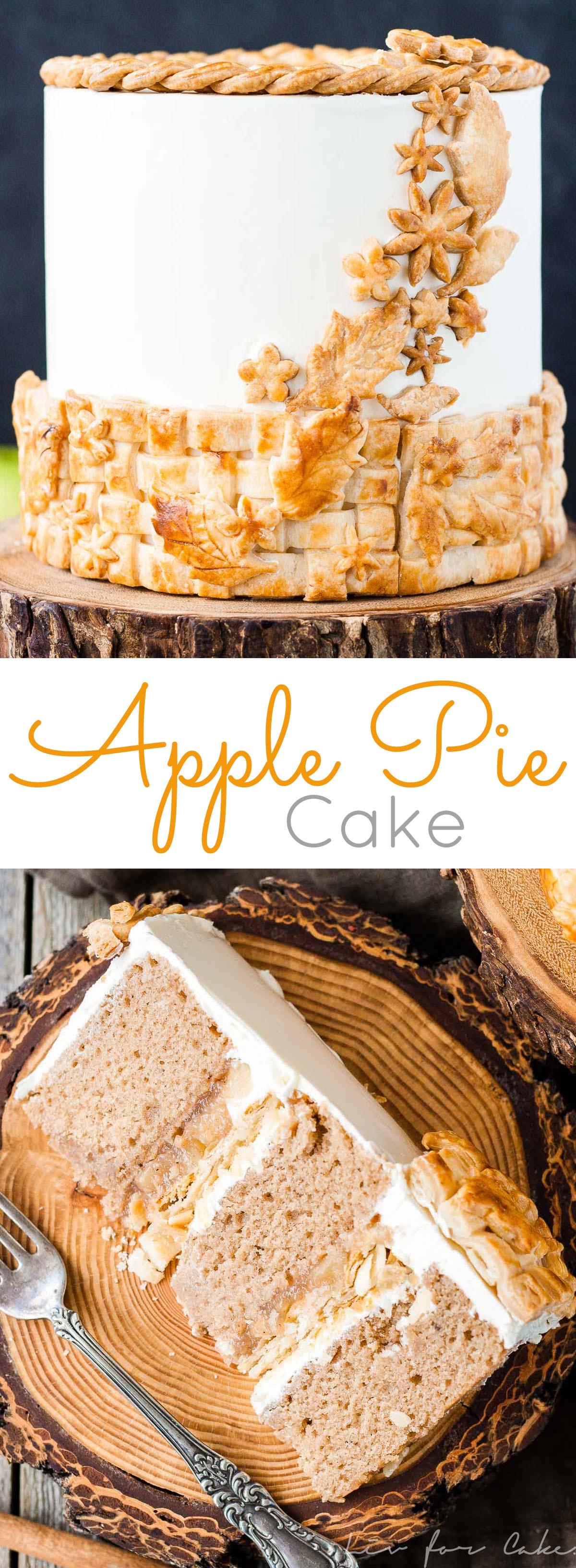 Apple Pie Cake : Liv for Cake