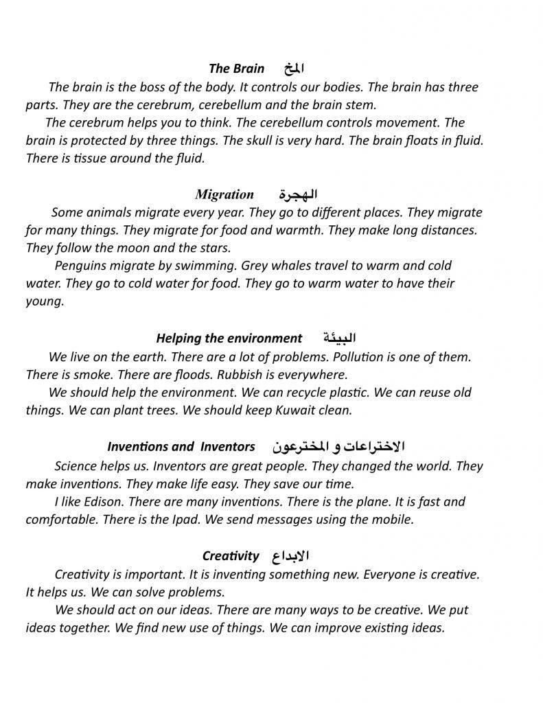 تعبير عن نفسي بالانجليزية Jaziyat Blog