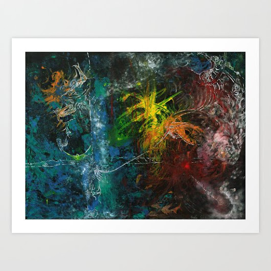 Water Art Print by Metamorview | Society6