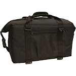 NorChill 24 Can Soft Sided Hot Cold Cooler Bag - Black