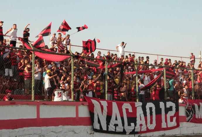 Torcida Flamengo final Taça GB (Foto: Thiago Sinionato / Flamengo)