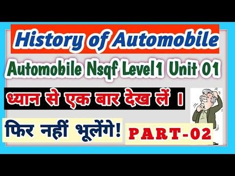 Automobile Level1/U1/S4/Invention of Automobile Post World War-II