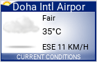 Click for the latest Doha International Airport weather forecast.