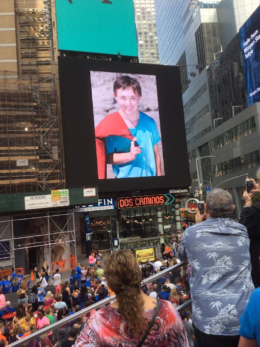Down Syndrome Awareness in NYC!