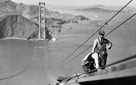 83 Years Ago, Construction on the Golden Gate Bridge Began