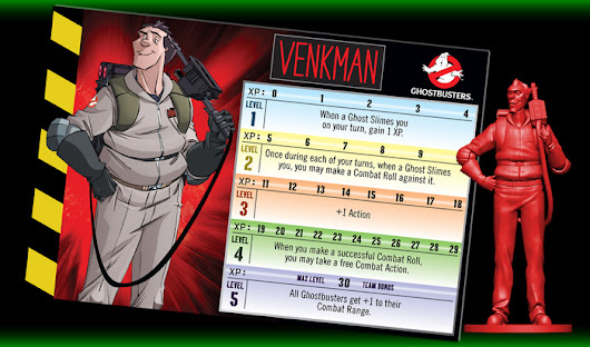 Ghostbuster the Board Game on Kickstarter
