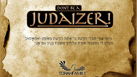 Don't be a Judaizer - YouTube