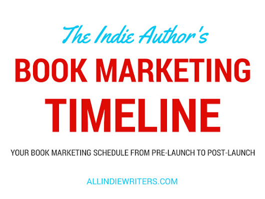 Book Marketing Timeline: From Pre-launch to Post-launch