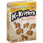 Kinnikinnick Foods KinniKritters Animal Cookies, Graham Style - 8 oz box