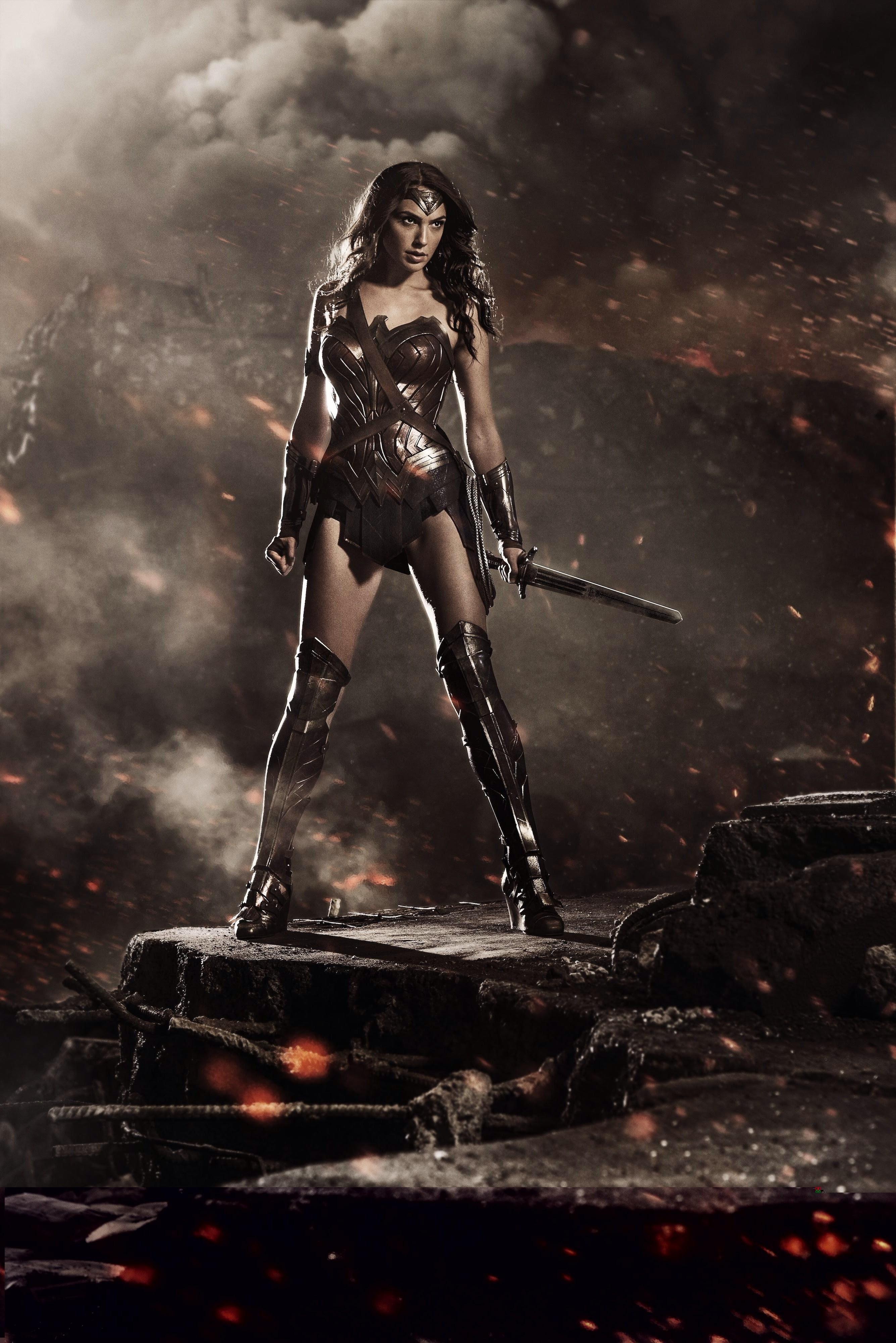 Wonder Woman Gal Gadot Batman V Superman Dawn Of Justice
