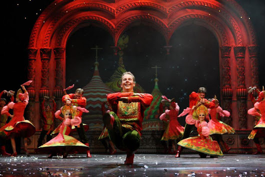 Russian Folklore Shows in Moscow and St. Petersburg